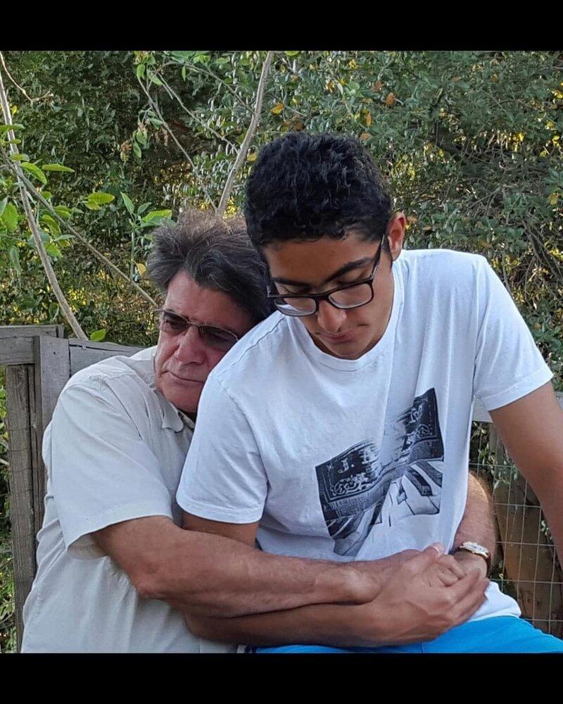محمدرضا شجریان در کنار پسرش رایان+ عکس