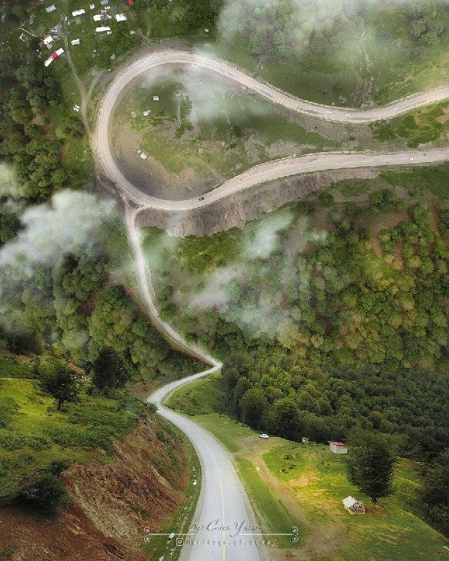 مسیر رویایی خلخال به پونل + عکس