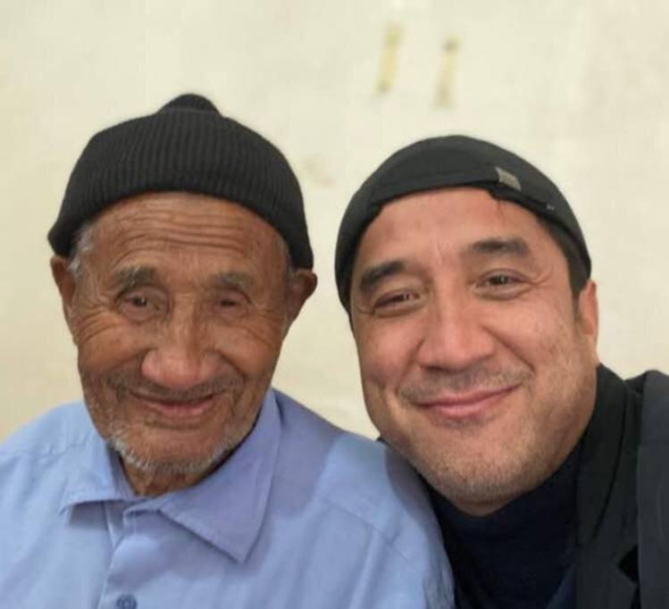 شباهت زیاد و جالب خداداد عزیزی با پدرش+ عکس