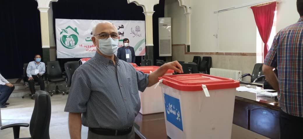 هشتمین انتخابات نظام پزشکی در شهرستان مراغه+ عکس