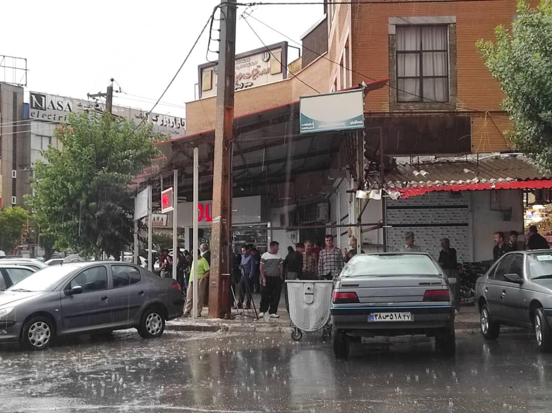 نخستین باران تابستانی در بانه+ عکس