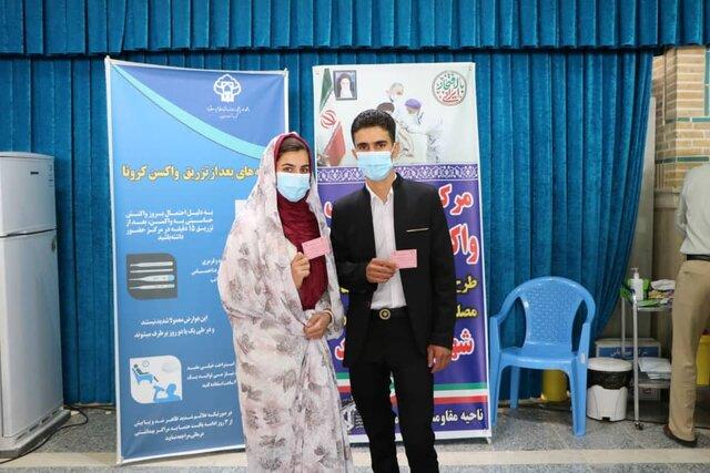 واکسن کرونا به زوجهای جوان یزدی تزریق میشود