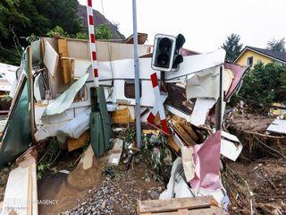 خسارات سیل در اروپا+ عکس