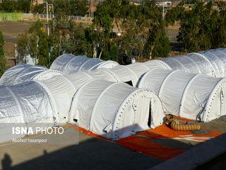 بیمارستان صحرایی کروناییها در نهبندان+ عکس