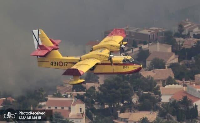 حواسپرتی یک راننده و فاجعه آتشسوزی در هزاران هکتار جنگل+ عکس