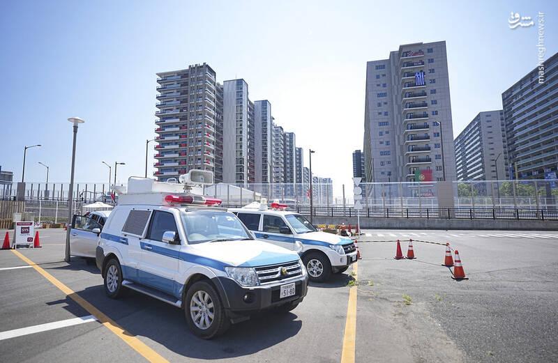 تدابیر امنیتی در دهکده المپیک توکیو + عکس