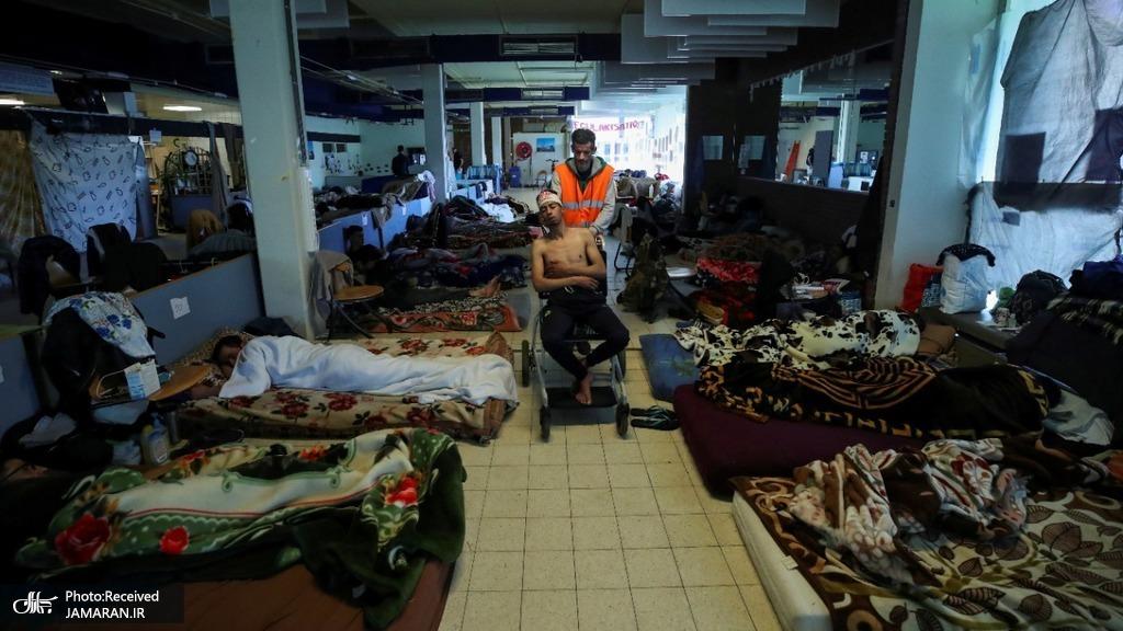 وضعیت اسفناک پناهجویان در بروکسل + عکس
