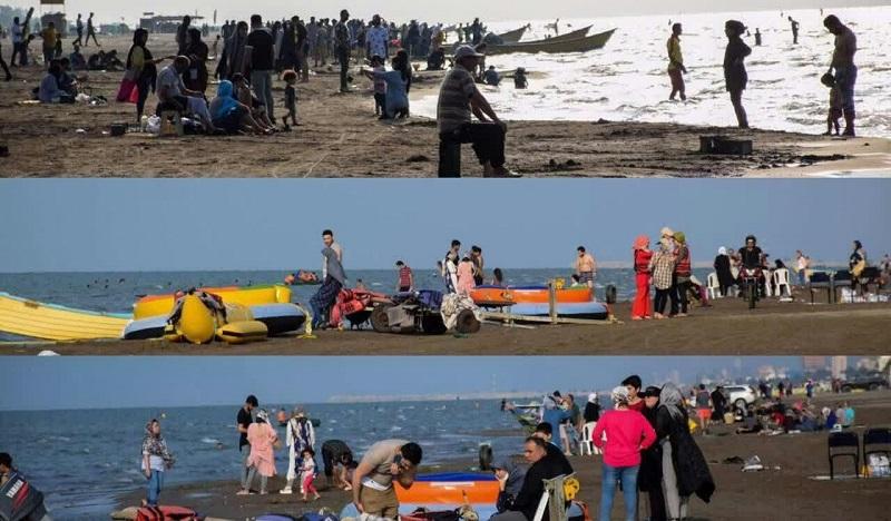 کرونا در سواحل مازندران میتازد/ عمر موج پنجم بیشتر از موجهای قبلی است