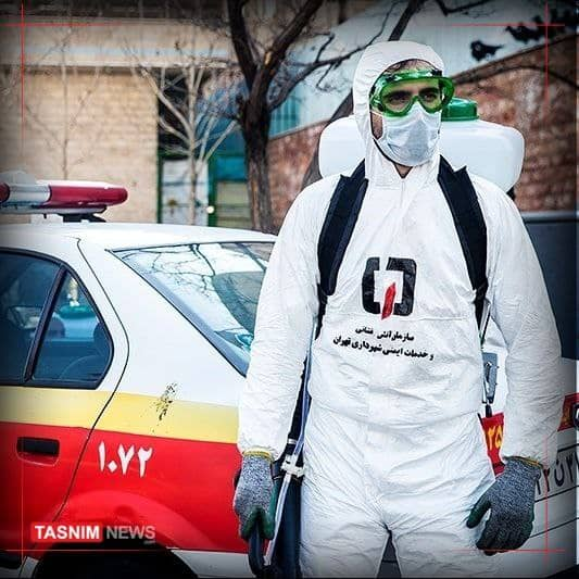 واکسن کرونا به آتشنشانان تهرانی رسید+عکس