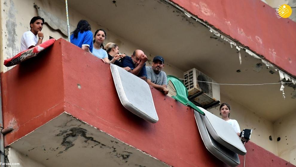 قطعی ۲۲ ساعته برق در لبنان! + عکس