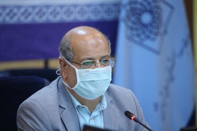 زالی: شاهد سیر بسیار شتابان بستری بیماران کرونایی در تهران هستیم