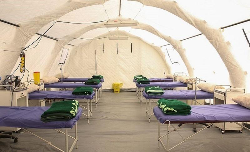 استقرار بیمارستان صحرایی در این شهرستان حاشیهای