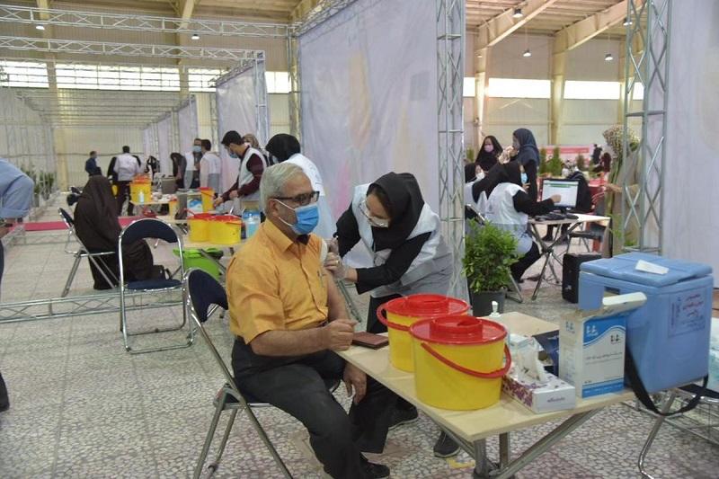 چه میزان واکسن کرونا در اصفهان تزریق شده است؟