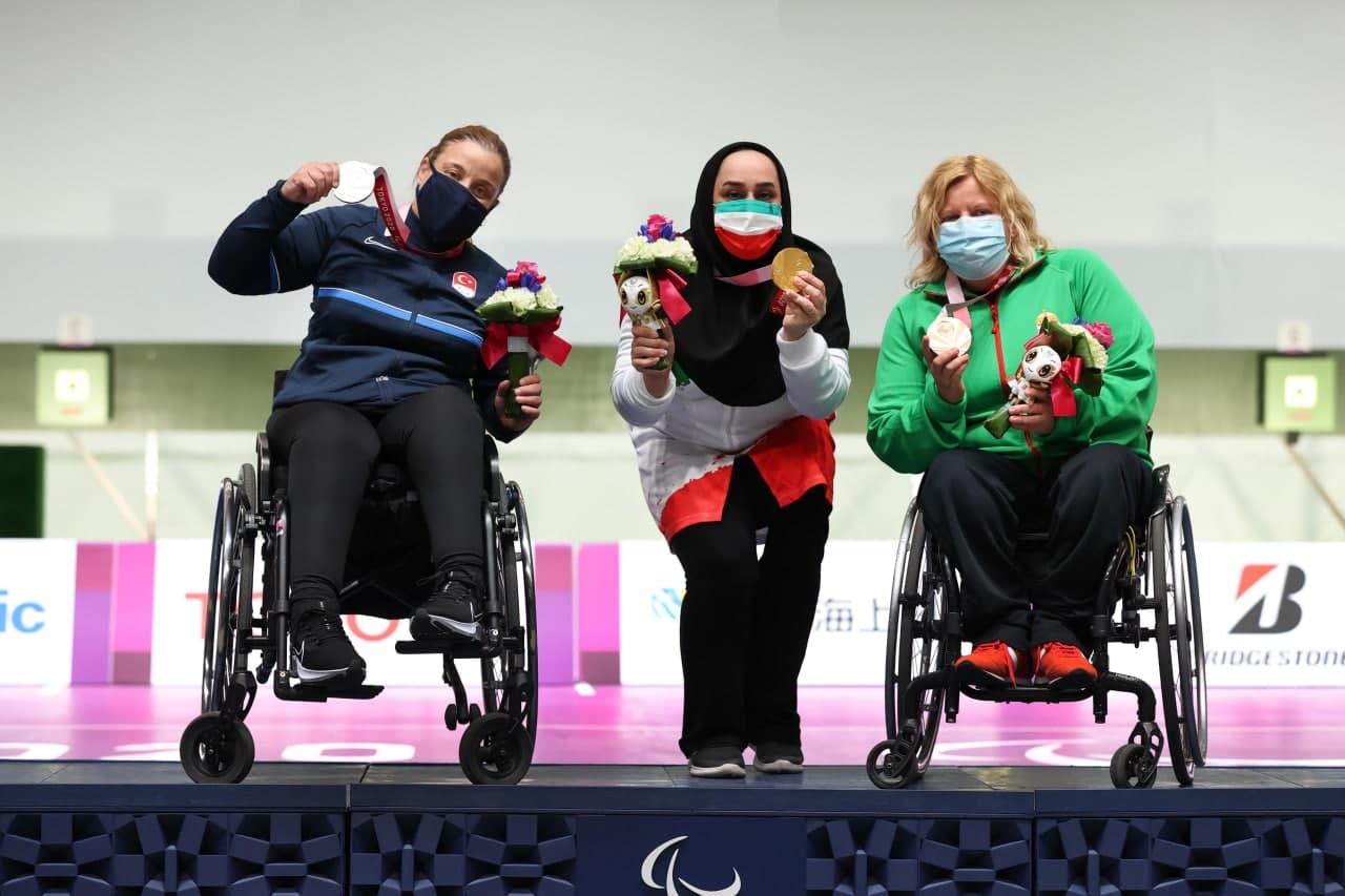 هت تریک اشک ساره جوانمردی در پنج سال و دو المپیک