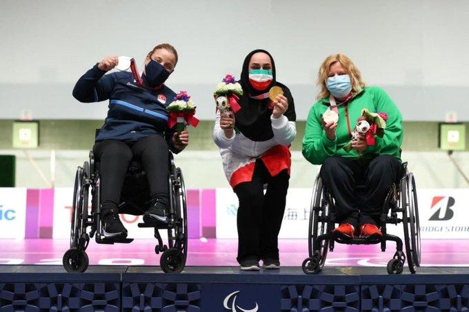 حرکت ورزشکار زن ایران که جهانی شد+عکس