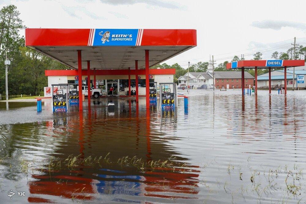قابهایی هولناک از ویرانیهای طوفان آیدا در لوئیزیانا+ عکس