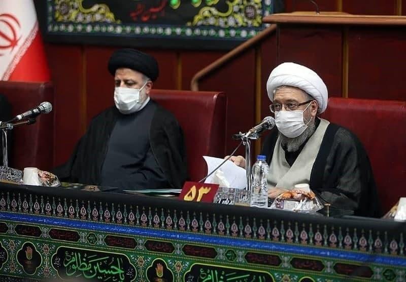 پایان غیبت چندساله رئیس جمهور در جلسات مجمع تشخیص مصلحت + عکس