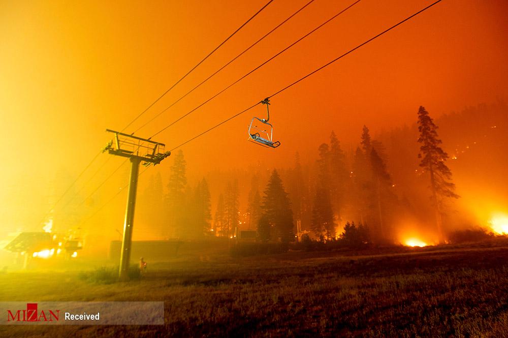 کالیفرنیا در جهنم سوخت! + عکس