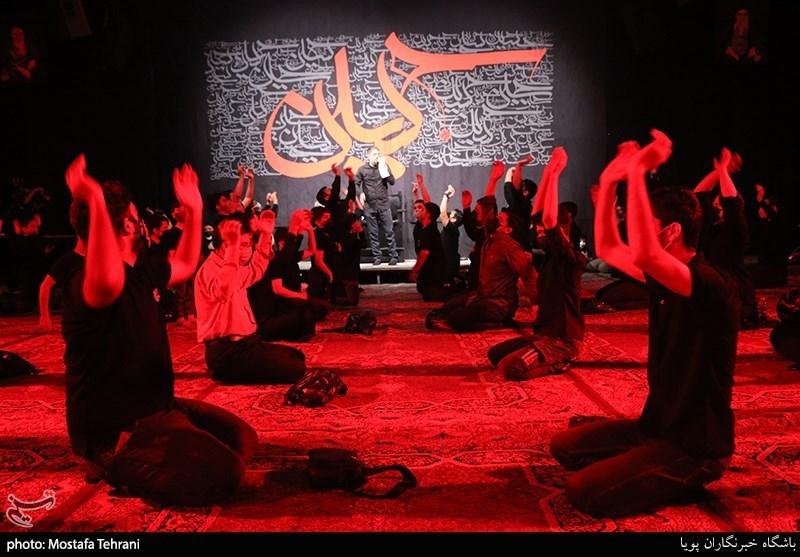 عزاداری دهه سوم محرم هیئت ریحانه النبی + عکس
