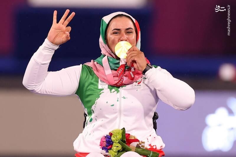 تیرهای طلایی زهرا نعمتی بانوی کماندار ایران + عکس