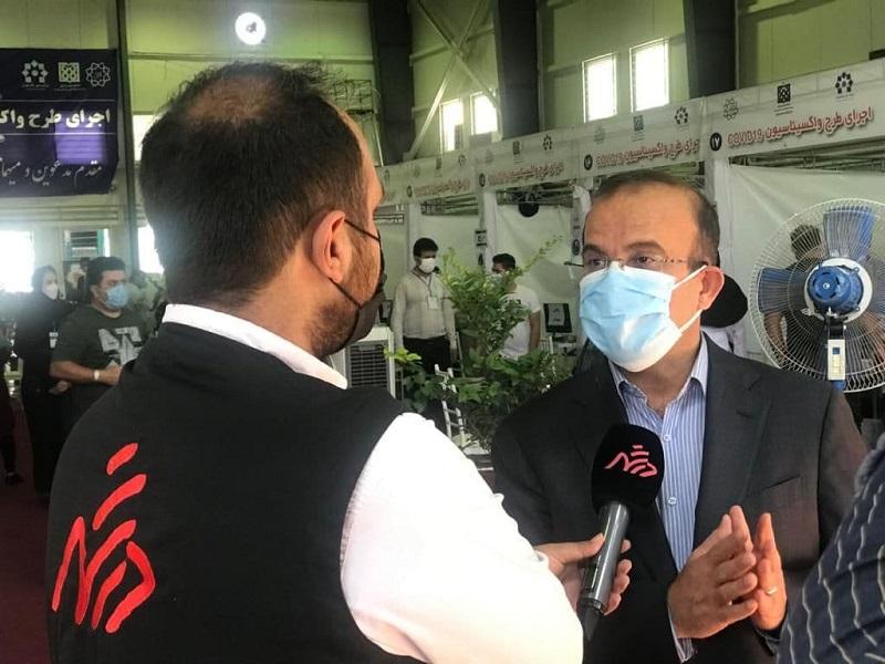 زمان  واکسیناسیون دور دوم کارکنان شهرداری تهران