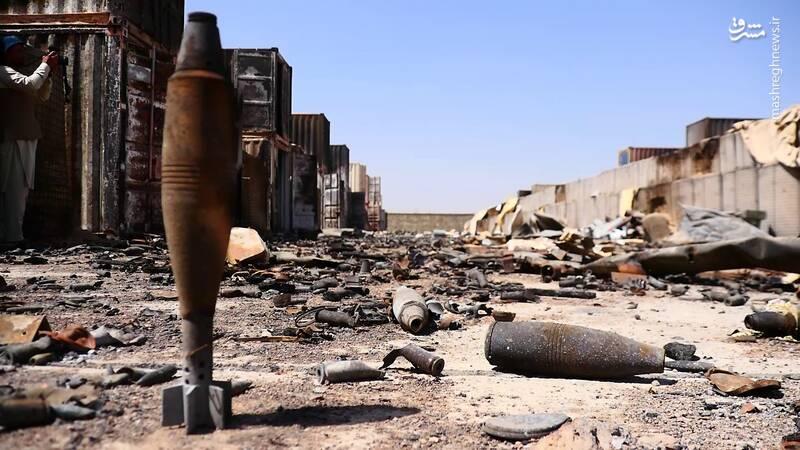 تخریب بزرگترین مرکز سازمان جاسوسی سیا در افغانستان + عکس