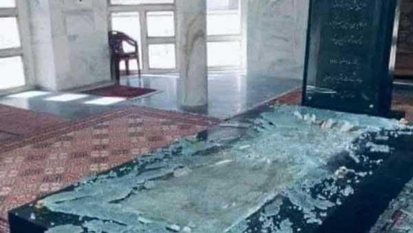 طالبان مقبره احمدشاه مسعود را ویران کرد+عکس