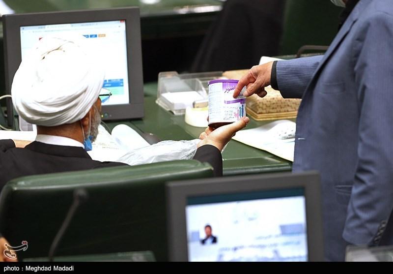 شیرخشک سوژه نمایندگان مجلس + عکس