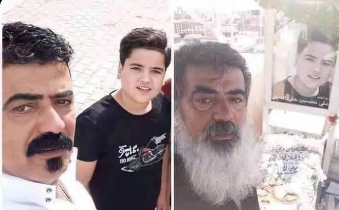 سلفی پدر و پسری در غزه طی چند روز + عکس