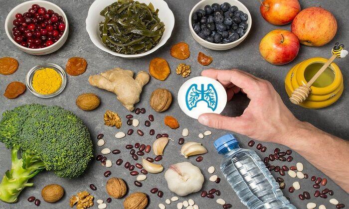 9 ماده غذایی مفید برای ریه ها + اینفوگرافی | اختصاصی