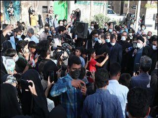 حضور و سخنرانی رئیسی در جمع حاشیه نشینان محله کاظمیه بیرجند+ عکس