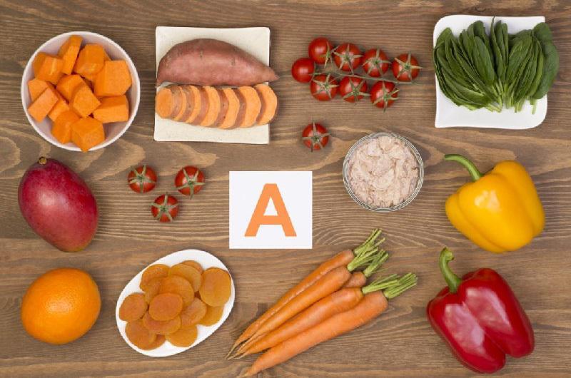 کدام مواد غذایی ویتامین آ دارند؟
