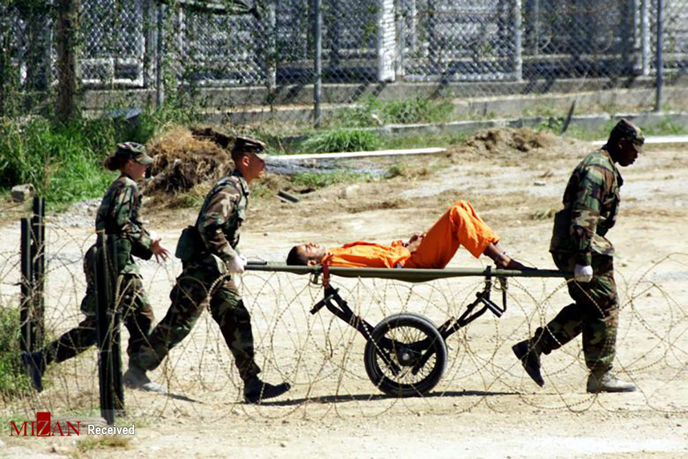 گوانتانامو زندانی برای مظنونان حادثه ۱۱ سپتامبر + عکس