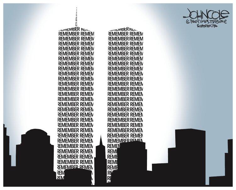 چیزی که از ۱۱ سپتامبر باقی ماند + عکس