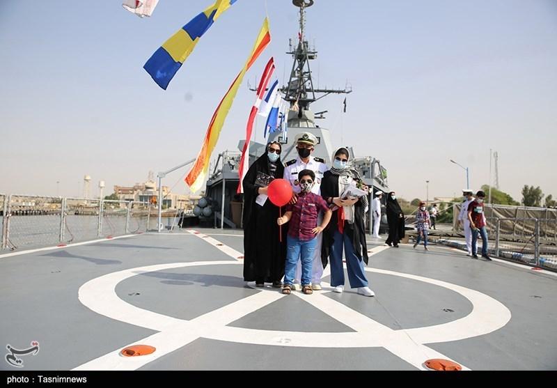 استقبال گرم خانواده ها از دریانوردان ایران + عکس