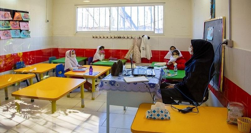 اینفوگرافیک/ وضعیت بازگشایی مدارس در پیک پنجم کرونا