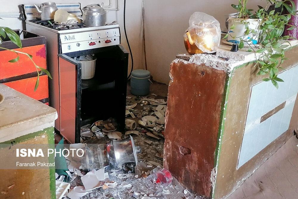 وضعیت روستاهای زلزله زده قوچان + عکس