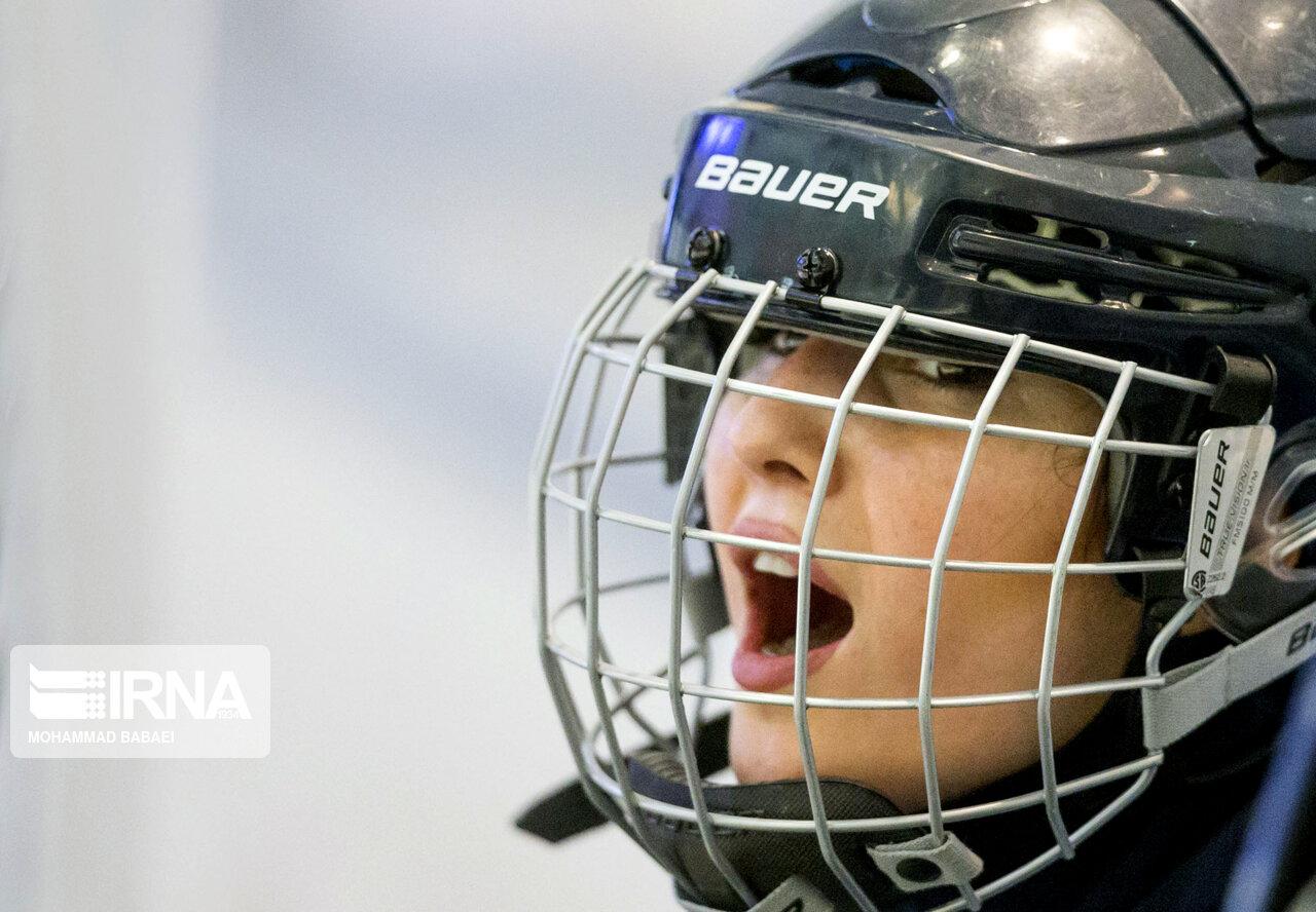 اردوی تیم ملی هاکی روی یخ زنان + عکس
