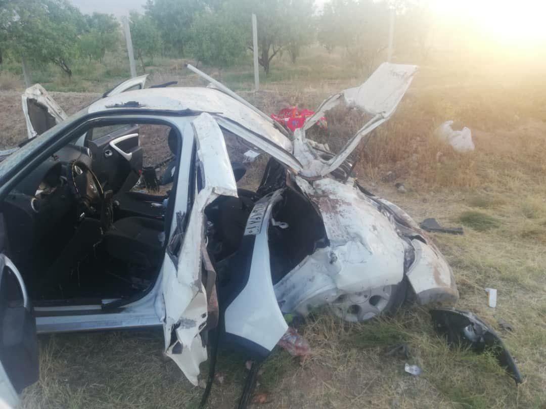 یک کشته و ۴ مصدوم بر اثر تصادف ساندرو با الاغ! + عکس