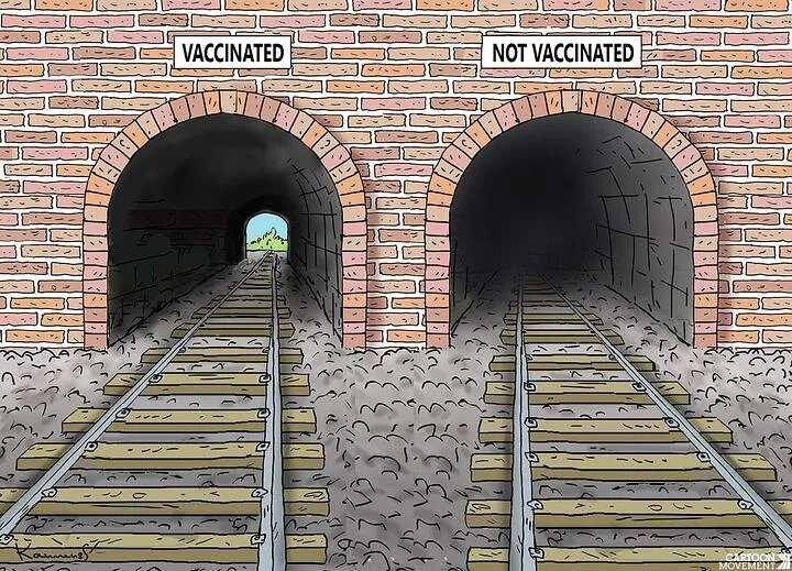 آنها که واکسن کرونا نمیزنند، ببینند + عکس