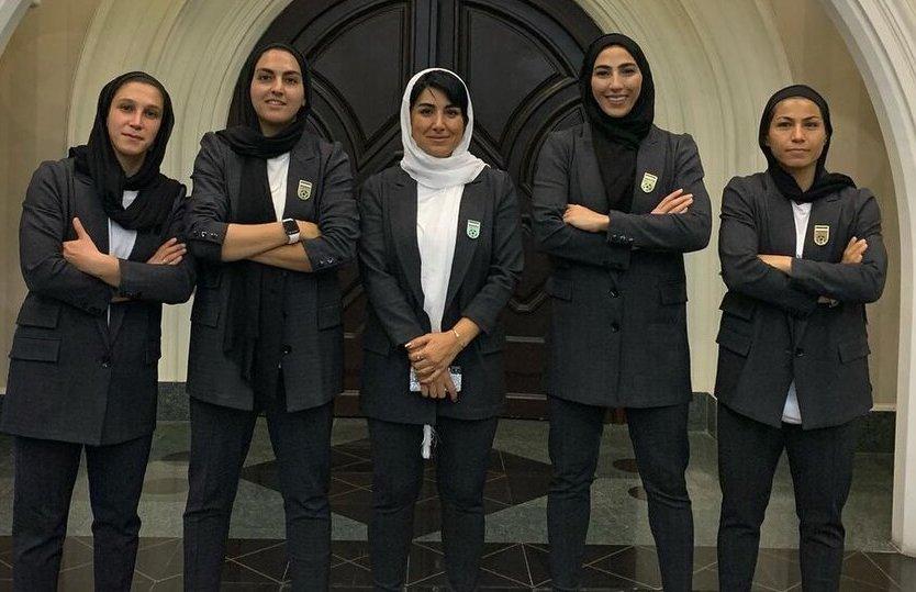 تیپ رسمی دختران فوتبال ایران برای اعزام به انتخابی آسیا + عکس