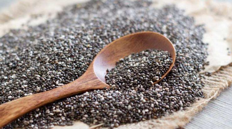 عوارض مصرف دانه چیا