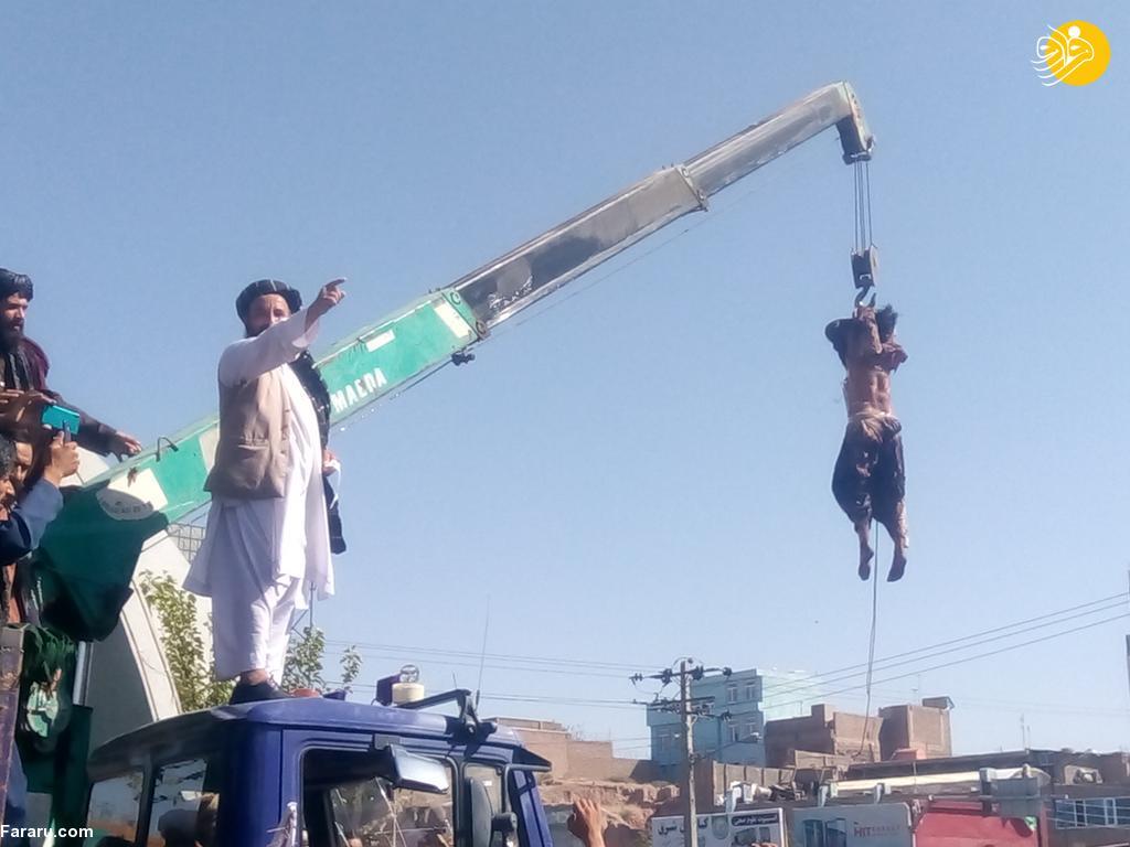 اعدام ۴ مرد در ملاءعام توسط طالبان! (+16) + عکس