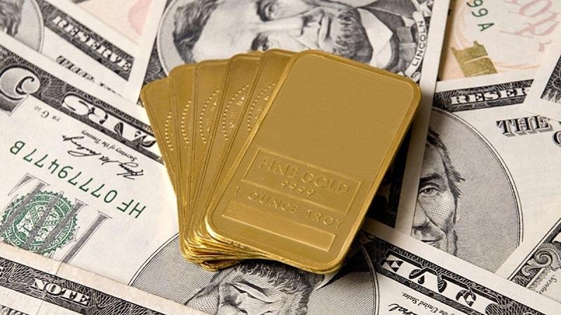 اینفوگرافیک/ نوسانات قیمت دلار و طلا در هفته گذشته