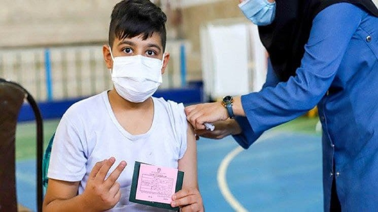 واکسیناسیون دانشآموزان در تهران+ ویدئو