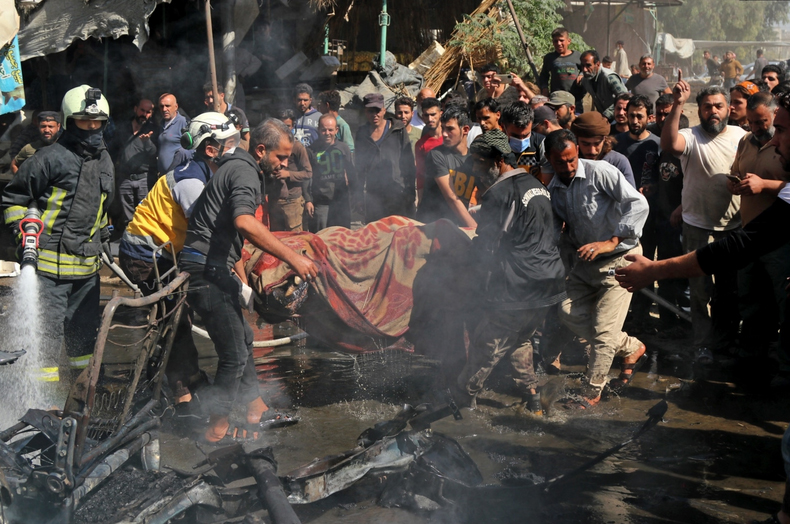 بمبگذاری در شهر «عفرین» در شمال سوریه + عکس