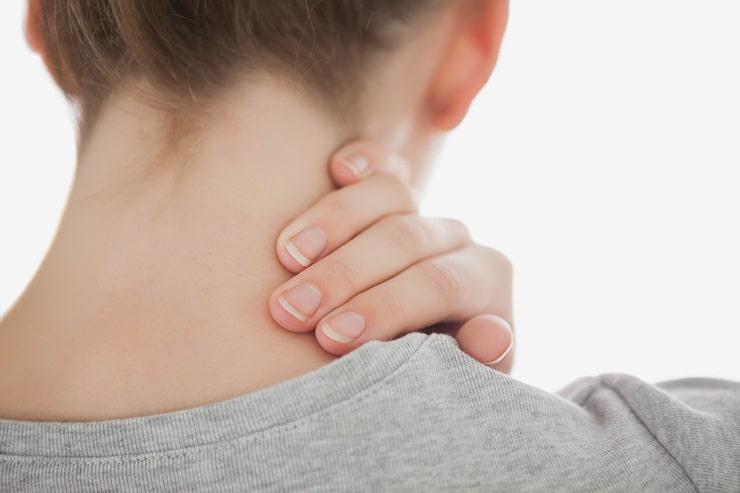 علت درد و سوزش در ناحیه گردن