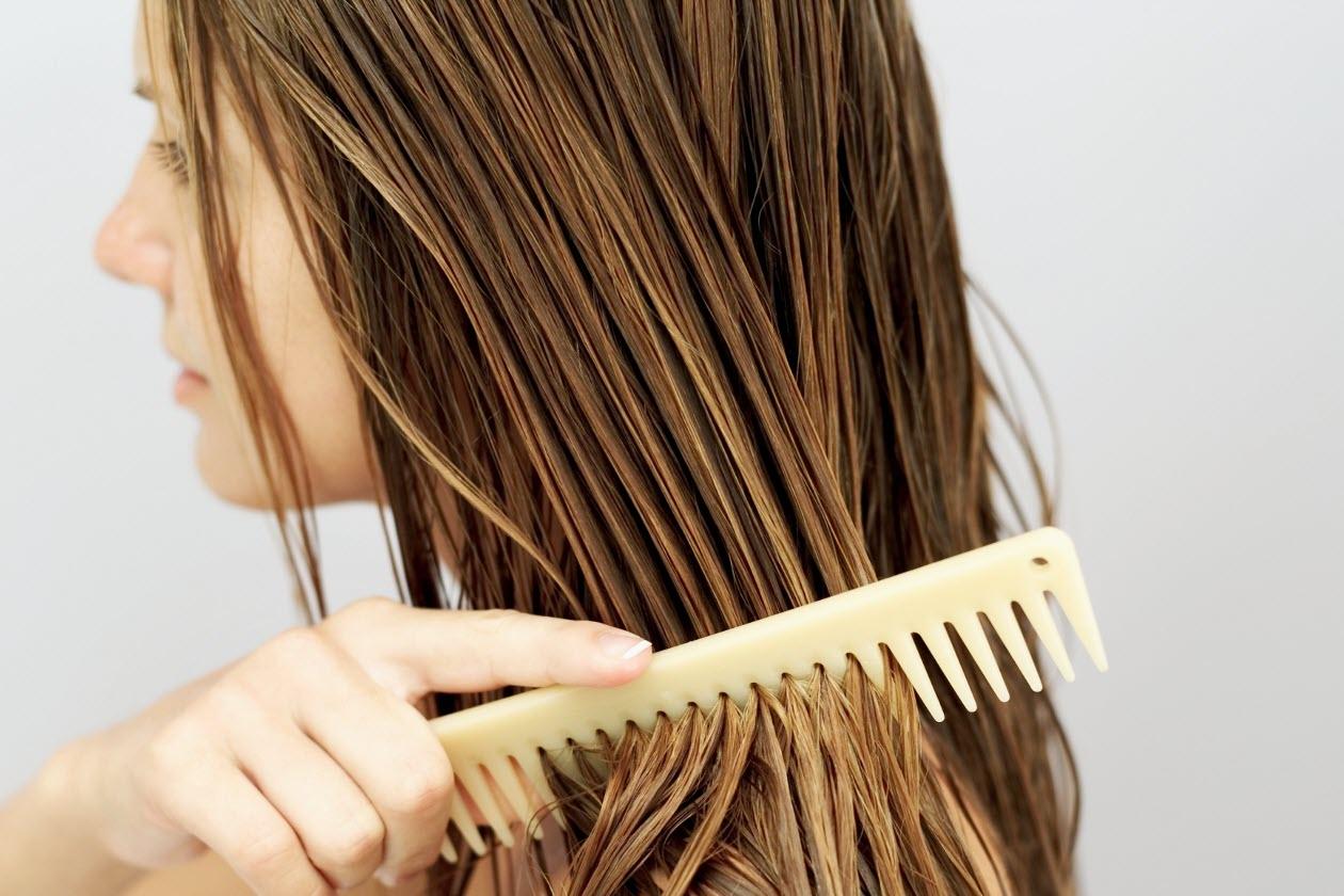 ماسکی ارزان برای درخشندگی مو