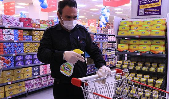 خطر ابتلا به کرونا از سطوح فروشگاهها چقدر است؟