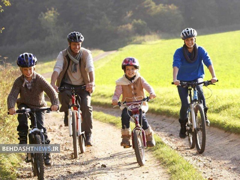 دوچرخهسواری را در برنامه روزانه خود قرار دهید